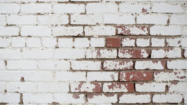 enkelsteens muur
